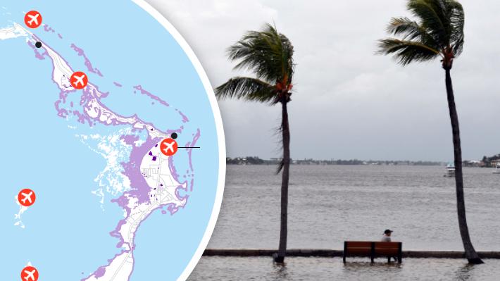 Mapa: El avance del huracán Dorian en su 12° día y el destructivo paso por las islas Bahamas