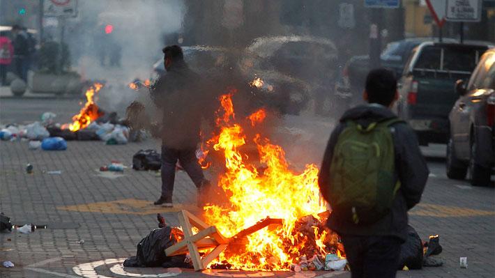 Manifestantes levantan barricadas en varios sectores de la capital: Hay cortes de tránsito