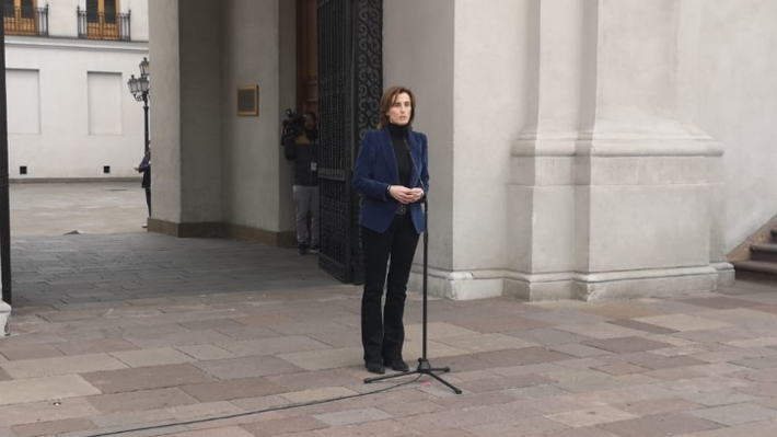 """Ministra Cubillos tras acusación en su contra: """"El trasfondo es un afán de limitar el derecho a disentir políticamente"""""""