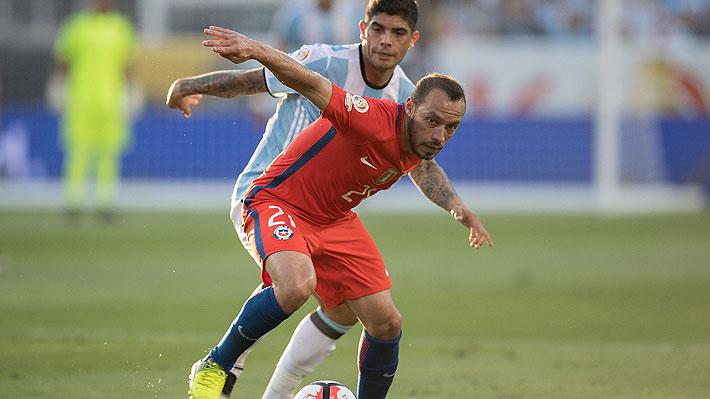 La particular respuesta de Marcelo Díaz al ser consultado por el amistoso que en solo horas jugarán Chile y Argentina