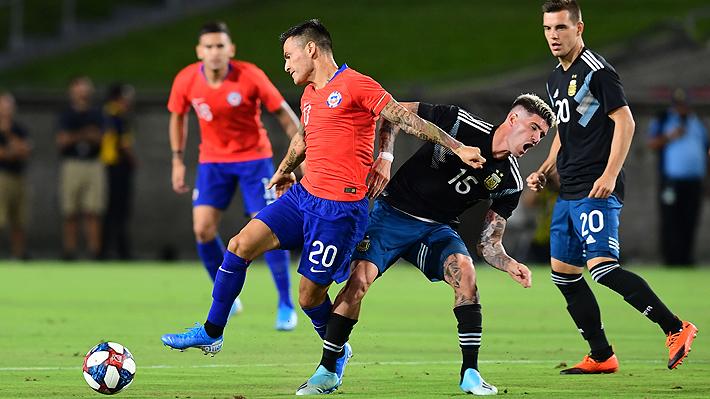 Chile y Argentina muestran muy poco y sólo empatan sin goles en amistoso en Estados Unidos