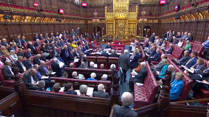 Cámara Alta británica aprueba ley que busca evitar un Brexit sin acuerdo