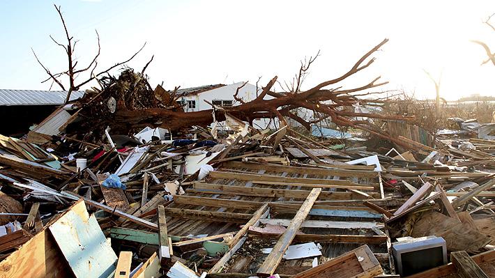 Bahamas eleva a 43 la cifra provisional de fallecidos tras el paso del huracán Dorian