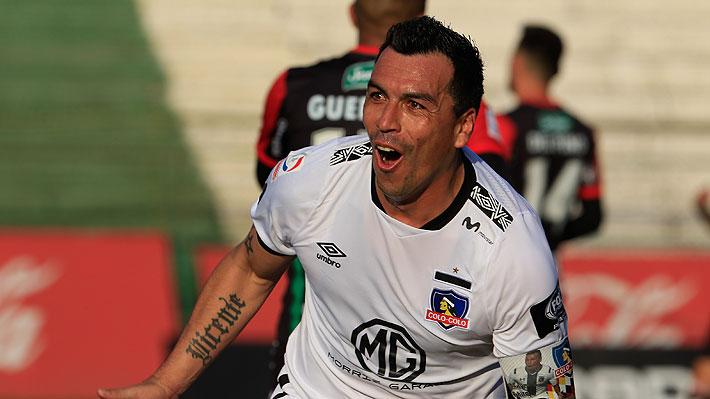 Esteban Paredes jugaría seis meses más y después tendría el deseo de asumir como DT en las menores de Colo Colo