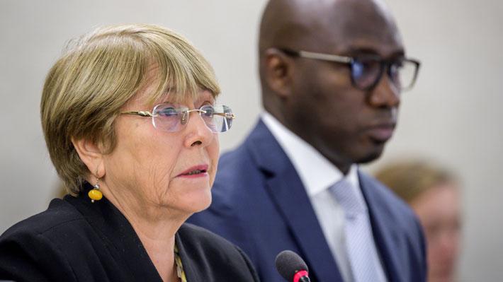 Bachelet critica a Maduro y denuncia nuevas ejecuciones extrajudiciales en Venezuela