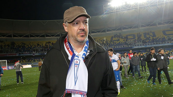 """Presidente de la UC presentará un reclamo formal por el """"deficiente"""" arbitraje en el duelo ante La Calera por Copa Chile"""