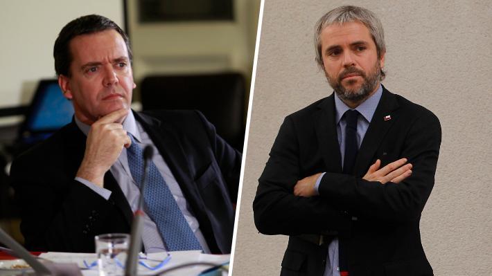 """Blumel responde a Harboe: """"No es una opción respetar la urgencia, sino que es una obligación constitucional y legal"""""""