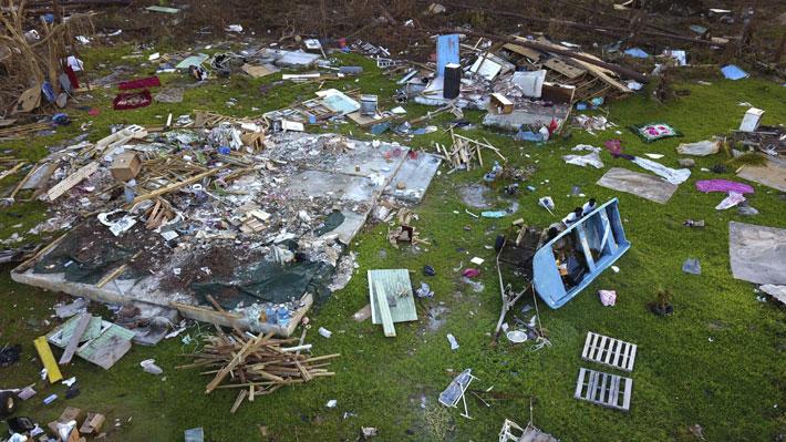 Sube a 50 la cifra de fallecidos por el paso del huracán Dorian en Bahamas
