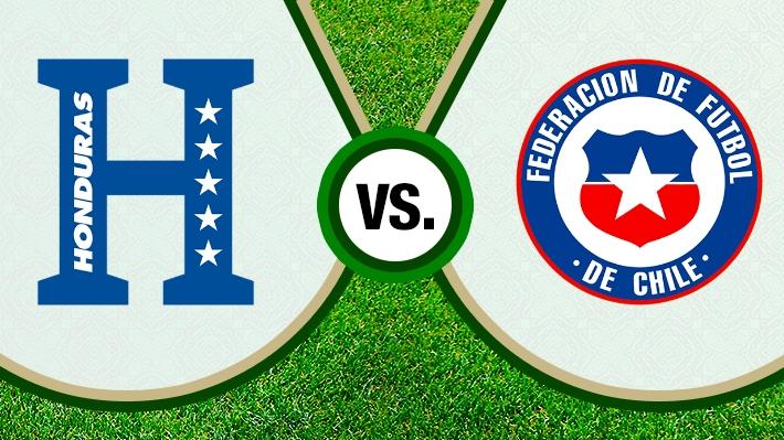 Repasa el relato de la derrota de Chile ante Honduras