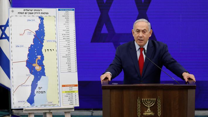 Promesa de Netanyahu de anexionar Cisjordania para Israel desata una serie de críticas