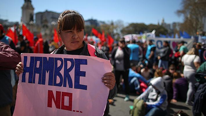 Congreso argentino inicia el debate de proyecto de emergencia alimentaria ante crisis económica