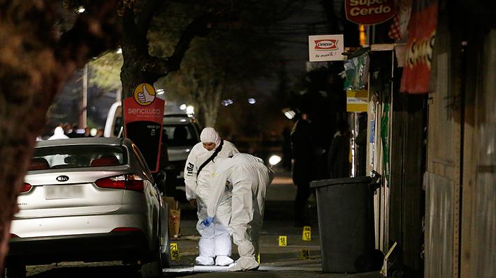 Fiscalía: Detenido por masacre en Puente Alto participó además en otros cuatro delitos relacionados con homicidios