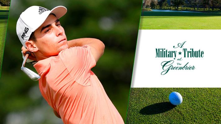 Mira cómo fue jornada en la que Niemann consiguió en el Greenbrier Classic el primer título de su carrera y en la historia del golf chileno