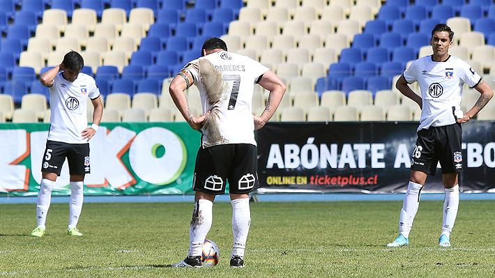 Crisis en Colo Colo: Apenas un triunfo y solo cuatro goles anotados en una pésima segunda rueda