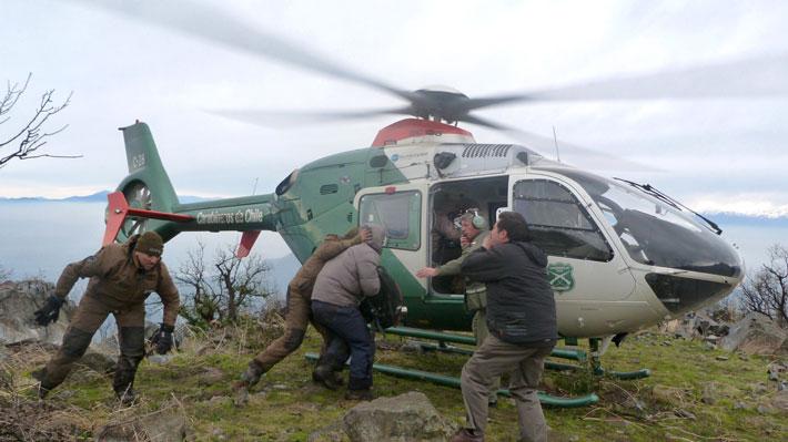 Una persona permanece extraviada tras registrarse una avalancha en Los Andes