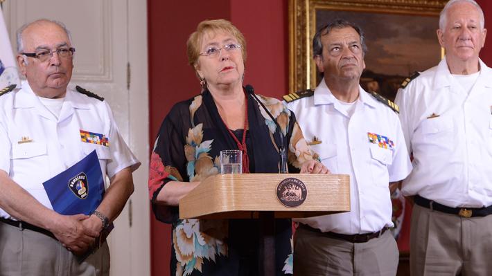 """""""Es absolutamente falso"""": Las ocasiones en que Bachelet descartó los presuntos vínculos entre su campaña y OAS"""