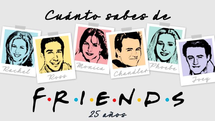 """A 25 años de que """"Friends"""" debutara en la televisión: ¿Cuánto sabes de la popular comedia?"""