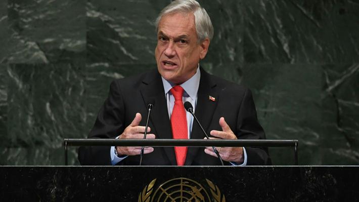 Éxito de la COP25 y fortalecimiento de liderazgo internacional: Las apuestas de Piñera en Naciones Unidas