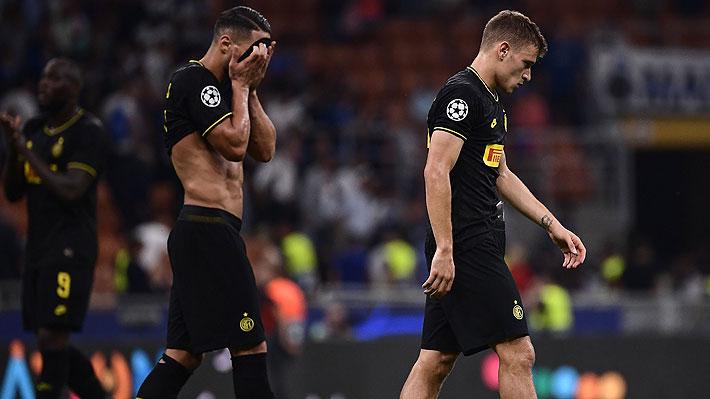 Alexis no ingresó en el Inter, que sólo rescató un agónico empate como local ante el Slavia Praga en la Champions
