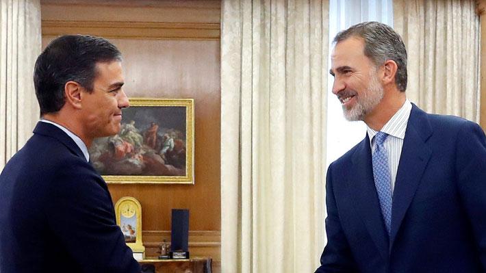 Rey de España decide no presentar candidato presidencial y abre posibilidad de nuevas elecciones