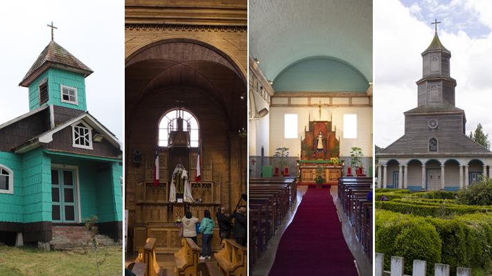 Fotos: Conoce algunas de las 152 Iglesias patrimoniales de Chiloé que forman parte del primer inventario público realizado