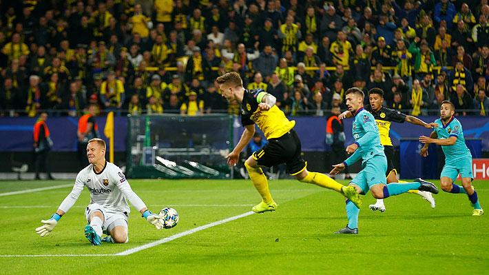 Mira el penal atajado y las increíbles tapadas de Ter Stegen que permitieron al Barça salvar un empate en la Champions