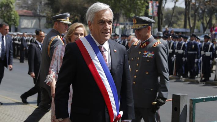 Presidente Piñera llama a los chilenos a celebrar en Fiestas Patrias y romper con el clima de pesimismo