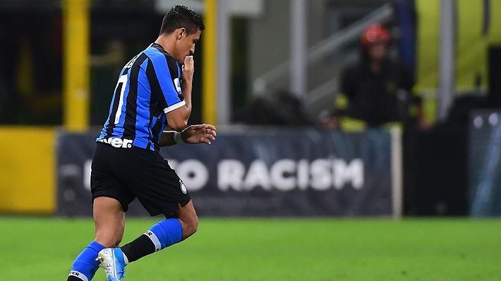 Tras quedarse sin minutos en Champions, Alexis convirtió un gol en amistoso del Inter...Mira cómo fue el tanto