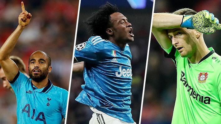 Revisa los golazos que hubo y el increíble blooper del arquero del Leverkusen en una nueva jornada de Champions League
