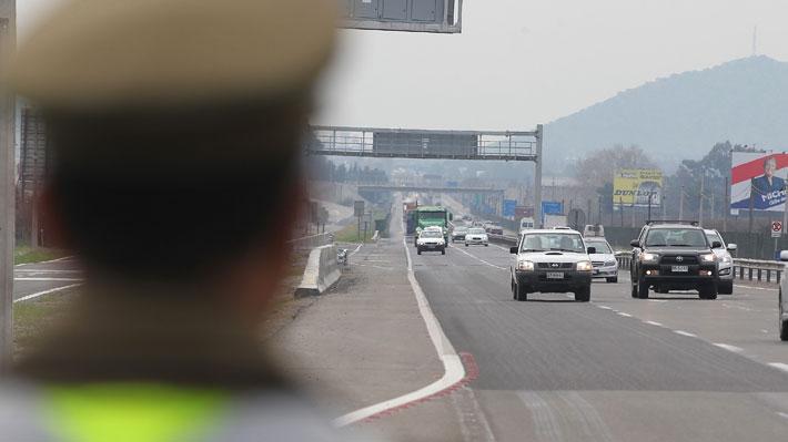 Mañalich asegura que hay un 25% menos de fallecidos por accidentes a la misma fecha de Fiestas Patrias 2018