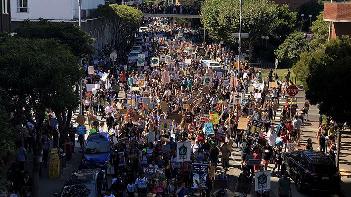 Millones de jóvenes marcharon por más de 150 países para exigir acción ante la crisis climática