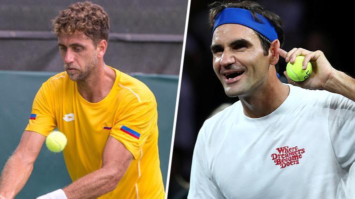 """""""Ni cuando gana un Grand Slam celebra así"""": Tenista ecuatoriano critica festejo de Federer en la Laver Cup"""