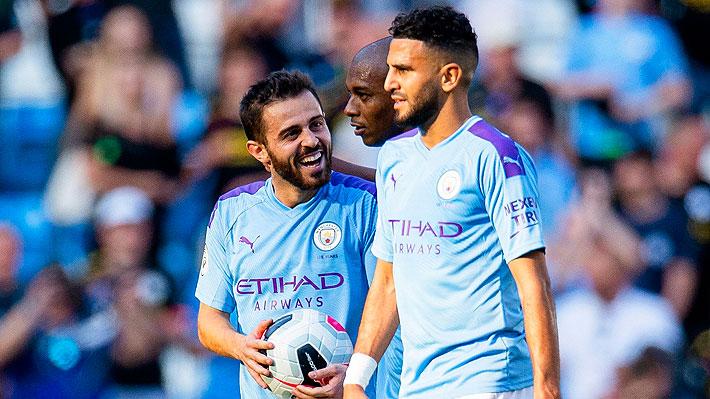 Es la máxima goleada del equipo en la Premier: Revisa los ocho goles del City en la aplastante victoria sobre el Watford