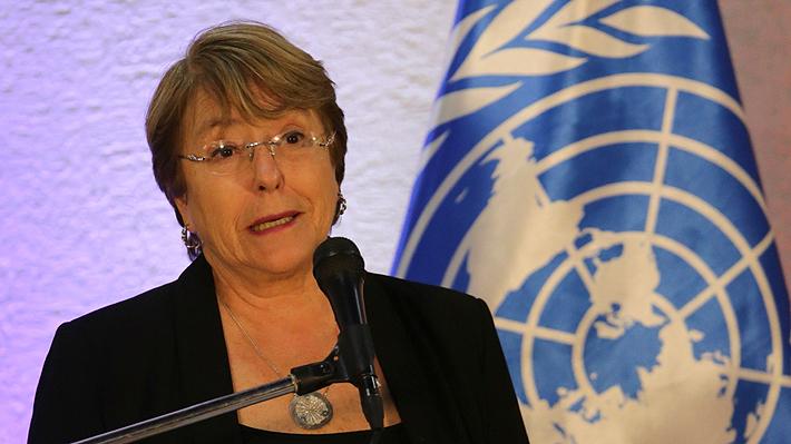 """Michelle Bachelet dice que la ONU reconoce a Maduro como """"presidente electo"""" de Venezuela"""