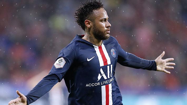 Video: Neymar recibió insultos y proyectiles, pero nuevamente salvó al PSG con un golazo en los últimos minutos