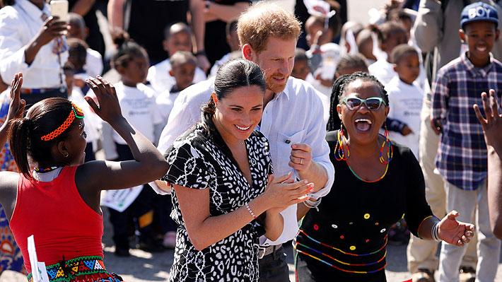 Harry, Meghan y Archie inician su primera visita oficial como familia a África