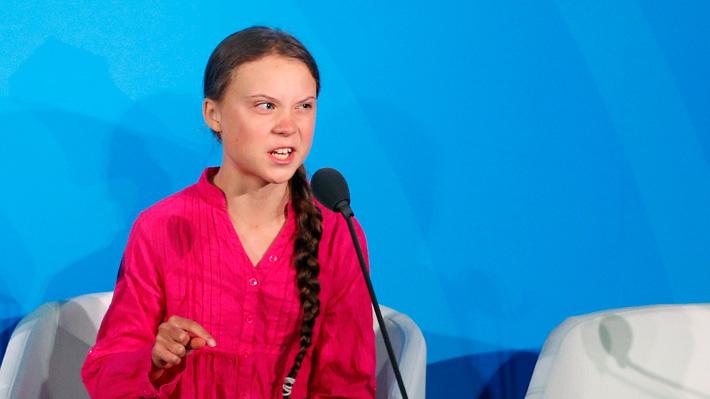 """Greta Thunberg a líderes mundiales en la ONU: """"¿Cómo se atreven? ¡Han robado mis sueños y mi niñez!"""""""
