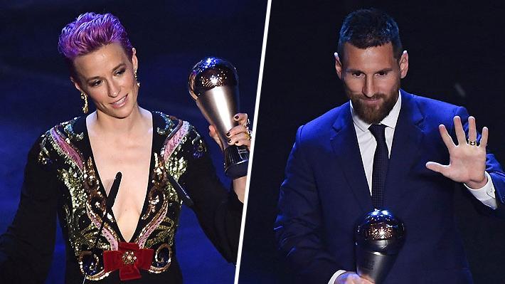 Rapinoe y Messi, mejores del año y Bielsa se llevó un galardón: Mira todos los ganadores de los premios The Best