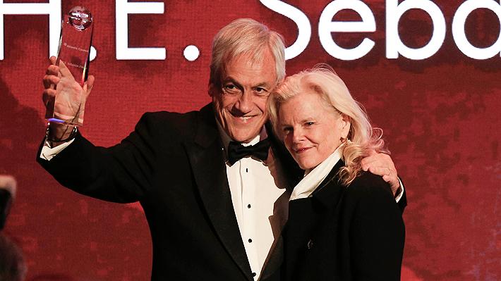 """Presidente Piñera es galardonado con el """"Global Citizen Award"""" 2019 del Atlantic Council"""