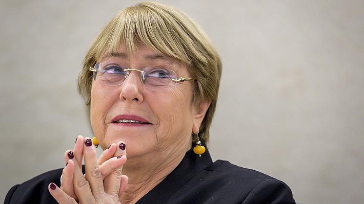 """Bachelet afirma que """"cambio climático es uno de los peores peligros para los derechos humanos en el mundo"""""""