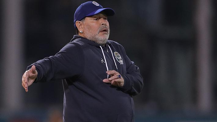 """Maradona vuelve a perder con Gimnasia y se lanza contra el árbitro: """"Nació malo y va a morir malo"""""""