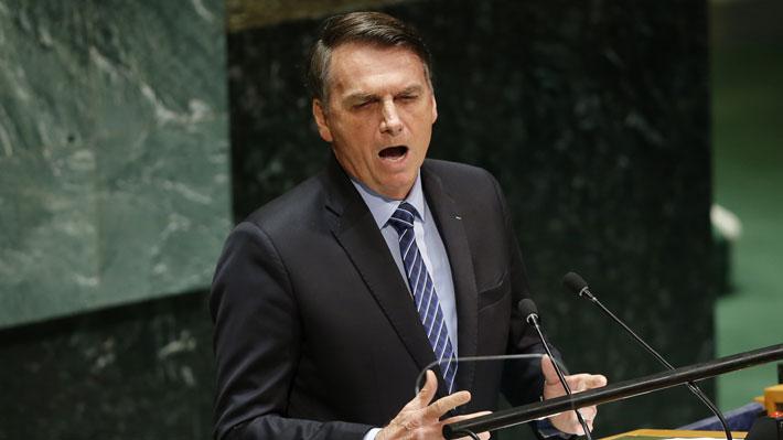 """Bolsonaro defiende su gestión ante la ONU: """"Somos uno de los países que más protege su medio ambiente"""""""