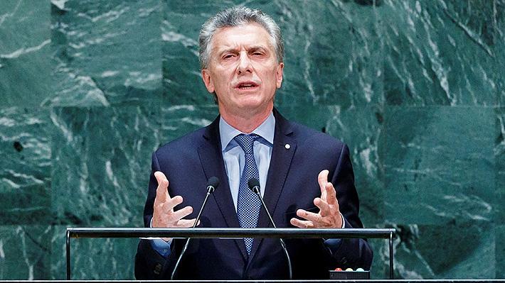 """Macri: """"La dictadura de Maduro sumió a Venezuela en una crisis humanitaria"""""""