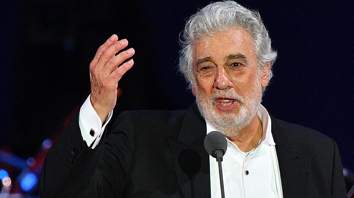 Plácido Domingo se retira de todas las presentaciones en la Ópera Metropolitana de Nueva York