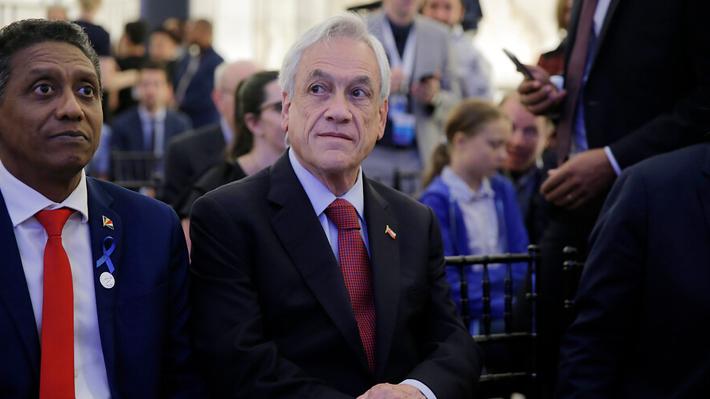 """Piñera dice que informe de la ONU sobre nivel del mar muestra que situación es """"realmente dramática"""""""
