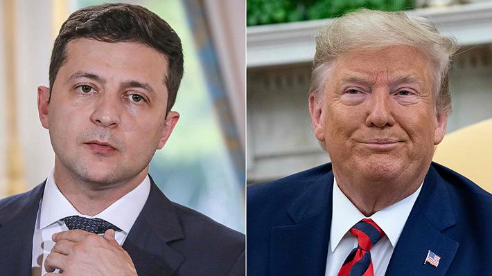 Juicio político a Trump: Transcripción de llamada revela que Mandatario de EE.UU. le pidió a Ucrania que investigue a Biden