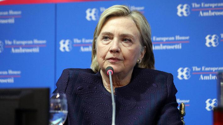 """Hillary Clinton respalda juicio político a Trump: """"Ha traicionado a nuestro país"""""""