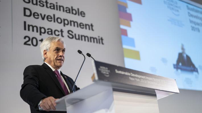 """La """"polaridad"""" de la agenda climática: Beneficios y peligros políticos de la estrategia de Piñera"""