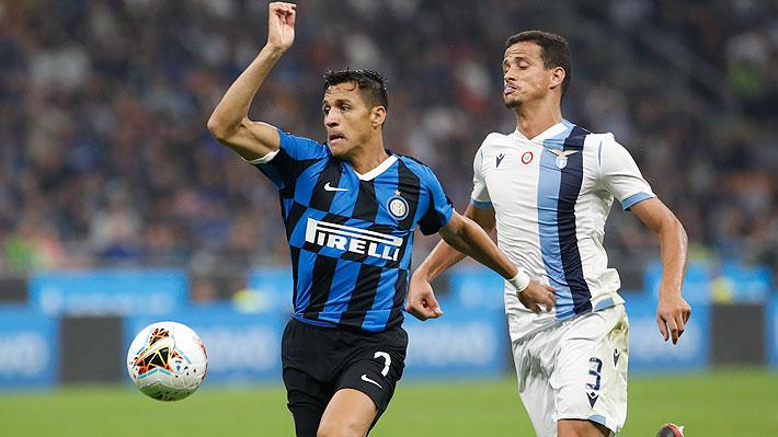 Alexis continúa relegado y apenas jugó 14 minutos en nueva victoria del Inter que sigue líder con campaña perfecta en el Calcio