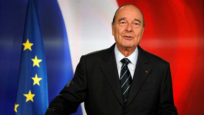 Falleció el ex Presidente de Francia Jacques Chirac a los 86 años